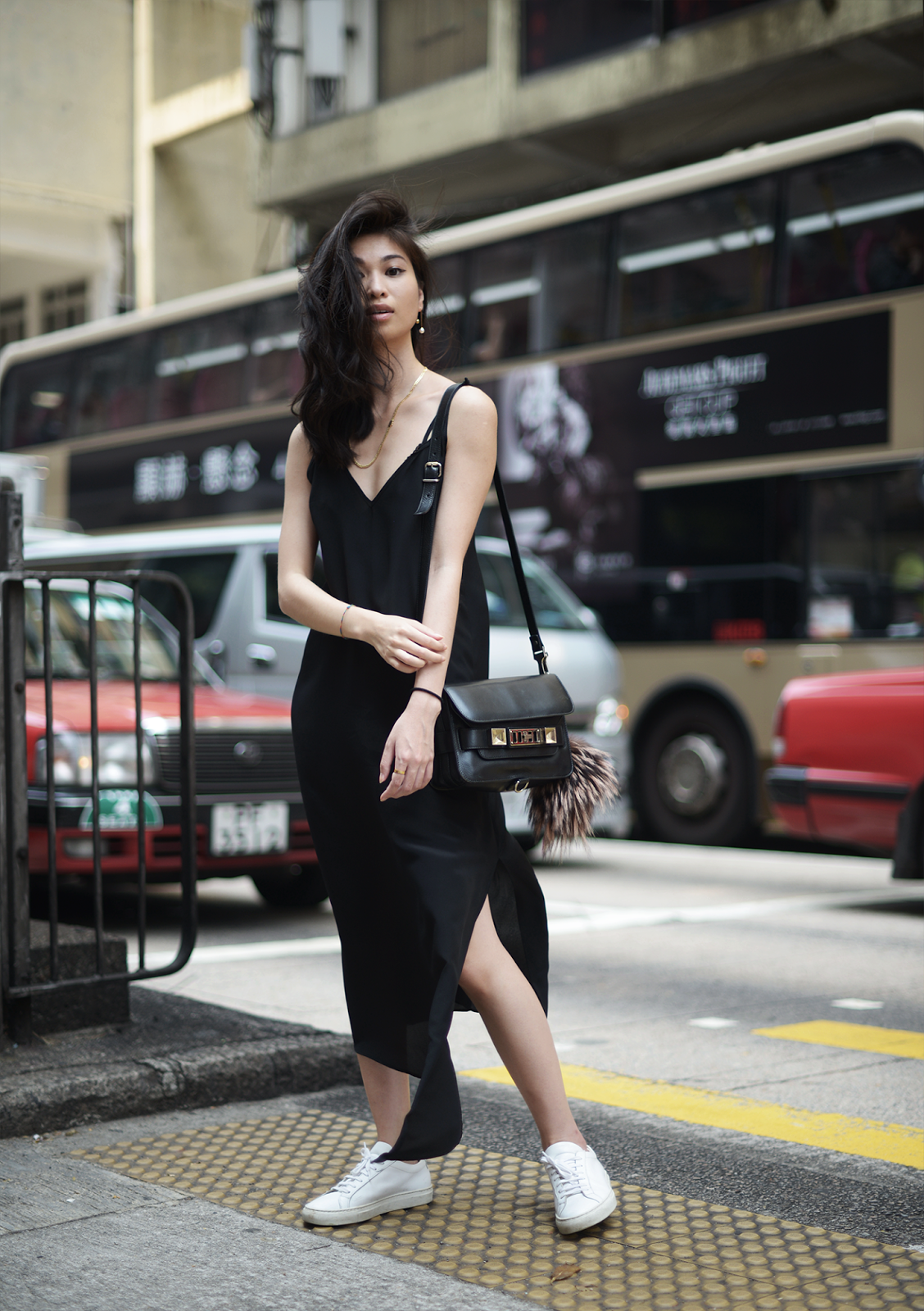 Asymmetric Slip Dress by Raey in Hong Kong / Raw / FOREVERVANNY.com