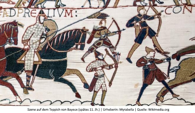 Bild: Köcher Teppich von Bayeux