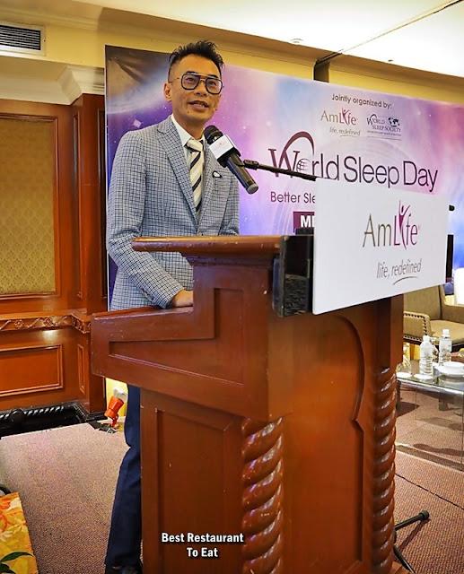 Mr Lew Mun Yee, Founder & President of AmLife