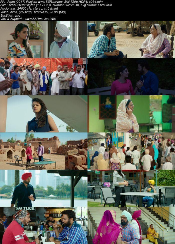 Arjan (2017) Punjabi 480p HDRip x264 400MB ESubs Movie Download