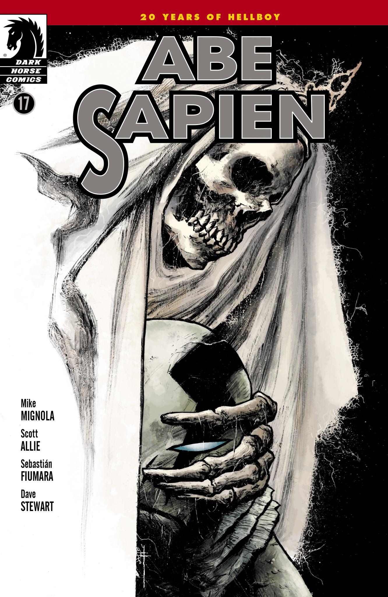 Read online Abe Sapien comic -  Issue #17 - 1