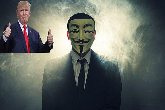 تهديدات أنونيموس لدونالد ترامب متواصلة