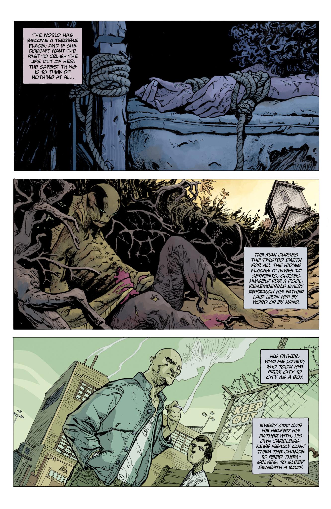 Read online Abe Sapien comic -  Issue #12 - 9