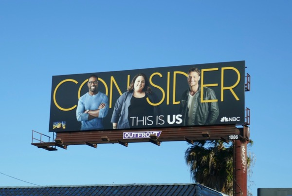 Consider This Is Us season 2 Emmy billboard
