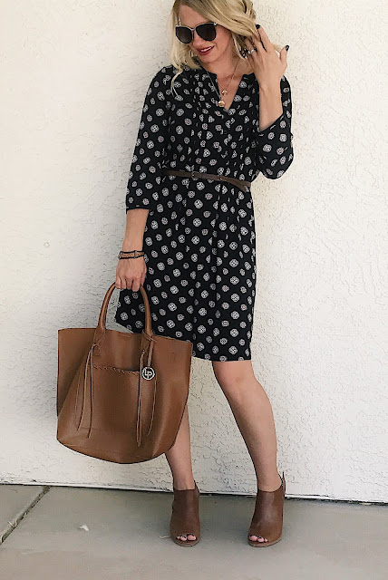 Thrifty Wife, Happy Life- Casual Fall Dress