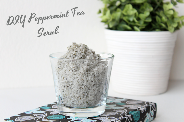 DIY Peppermint Tea Scrub, Effortlessly Excessive