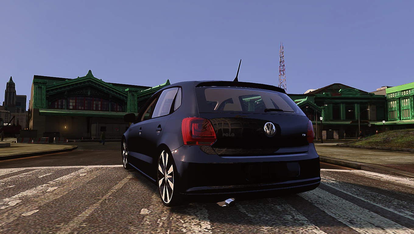 vw polo 6r tsi fixa gta iv convertido por rafa gta iv mods carros e motos. Black Bedroom Furniture Sets. Home Design Ideas