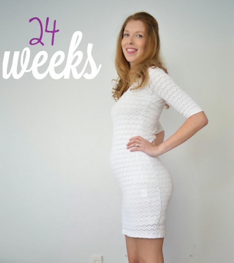 Preggo update - 24 weeks | five kinds of happy