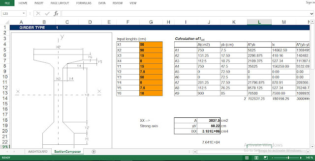 Prestressed Precast I-Girder Design for Intermediate Beams