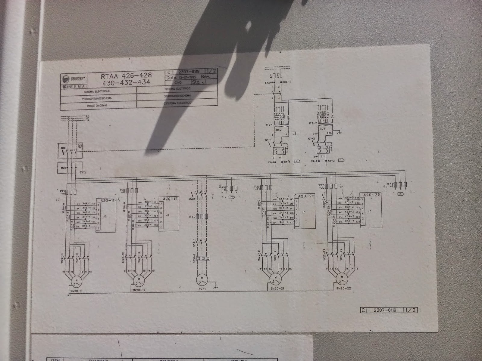 Trane Chiller Wiring Diagram Apexi Safc Hvac Chillers Heatpump Air Cooled Control Rtaa Series