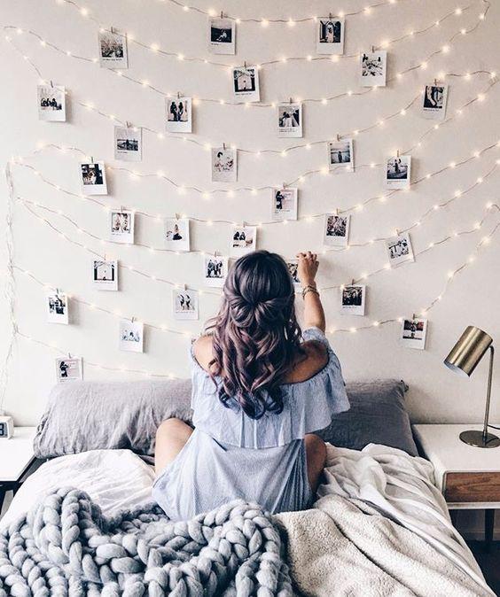 Hedendaags Binnenkant : Mooie hangende dingen in de slaapkamer! UI-85