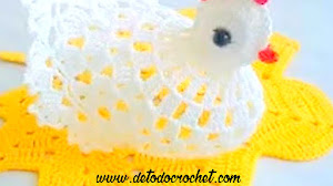 Cómo tejer una gallina al crochet / Tutorial en video