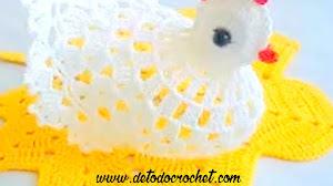 Cómo tejer una gallina al crochet / Tutorial en video