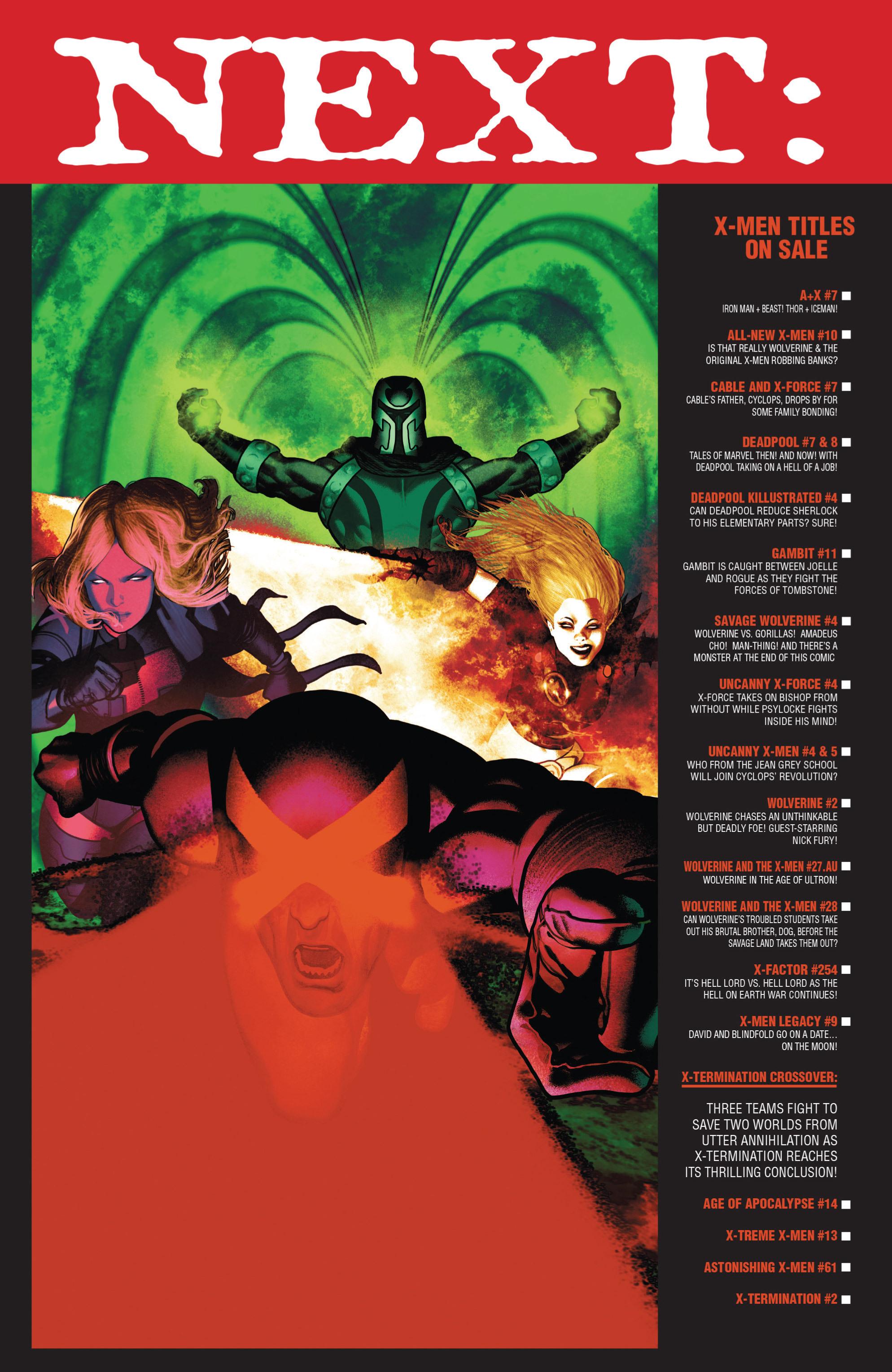 Read online Uncanny X-Men (2013) comic -  Issue #4 - 20