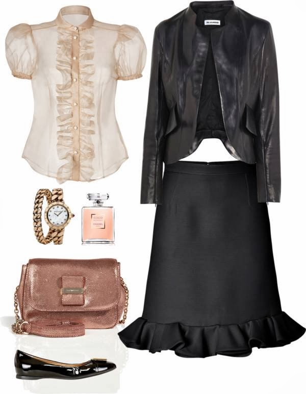 Black and Pink Champagne by Cool & chic style fashion
