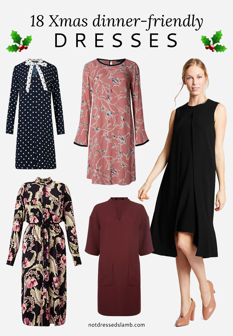 18 Christmas Dinner-Friendly Dresses For Women Over 40