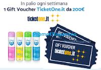 Logo Infasil concorso ''La freschezza segue il tuo ritmo'' : vinci 30 voucher TicketOne da 200€! Anticipazione