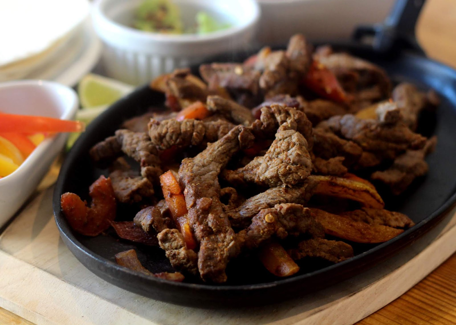 [AD] Quick And Easy Beef Fajitas