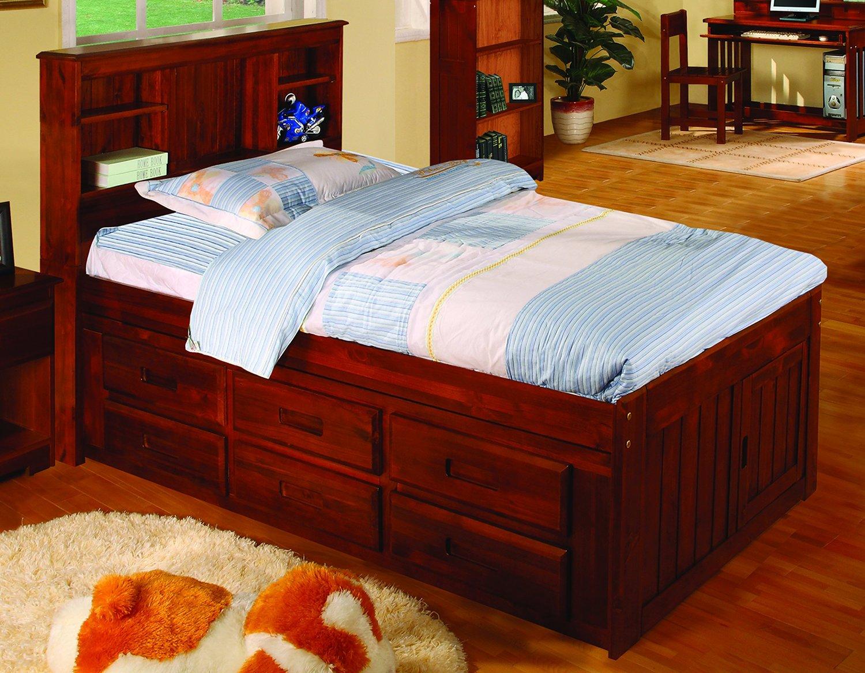 Platform bed with storage drawers underneath - Bed with storage underneath ...