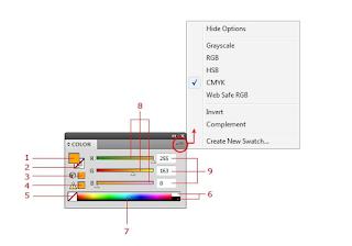 Color Panel Màu Bảng điều chỉnh