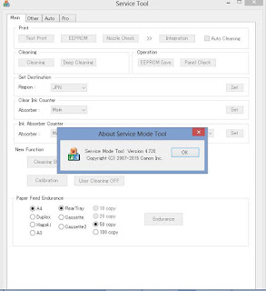 Download Canon Service Tool V4720