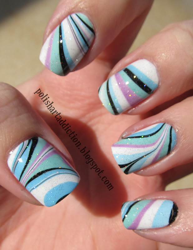 Inspired to Water Marble