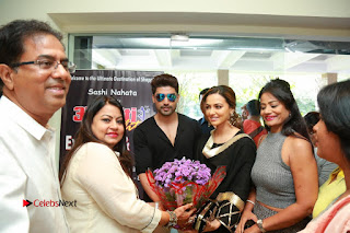 Bollywood Actress Sana Khan Launches Aakrithi Exibition  0405.JPG