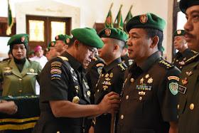 Pangdam III/Siliwangi Pimpin Serah Terima Dan Penyerahan Tugas Jabatan