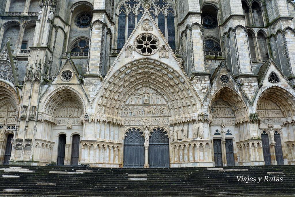 Catedral de Saint Etienne, Bourges, Francia