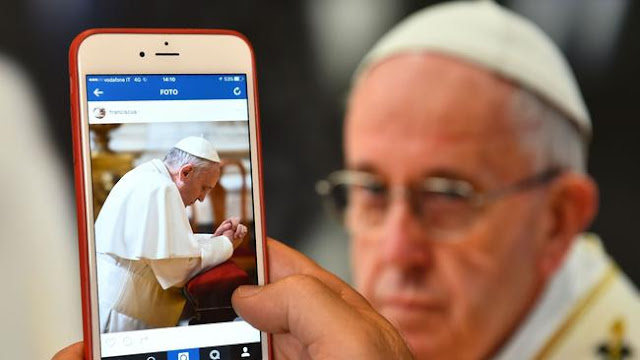 Welcome to Instagram, Pope Francis!