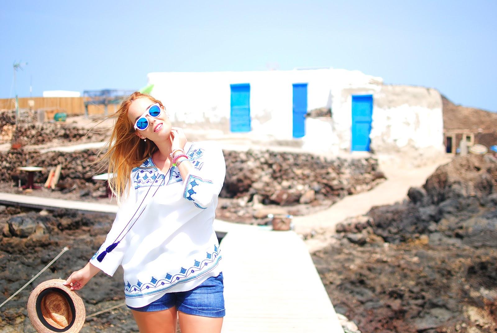 isla de lobos, nery hdez, chicwish, reflective sunglasses, snb, blonde, fuerteventura, pendientes mise, clon mise dior,