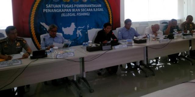 Menteri Susi: Satu Kelompok Perampasan di Perairan Lampung Berhasil Ditangkap