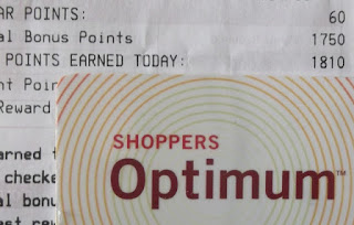 Shoppers Optimum card and points, Shoppers, Shoppers Drug Mart, Shoppers Optimum card, Shoppers Optimum points, Optimum points, regular Optimum points, bonus points, Shoppers Optimum points collector, Optimum points collector, 100 Happy Days Challenge, Another Random Thought of a Procrastinator, Random Thought, Another Random Thought, Random Thoughts, Another Random Thoughts, Procrastinator