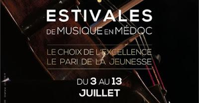 Beaux-Vins evenement juillet 2018 estivales musique en medoc
