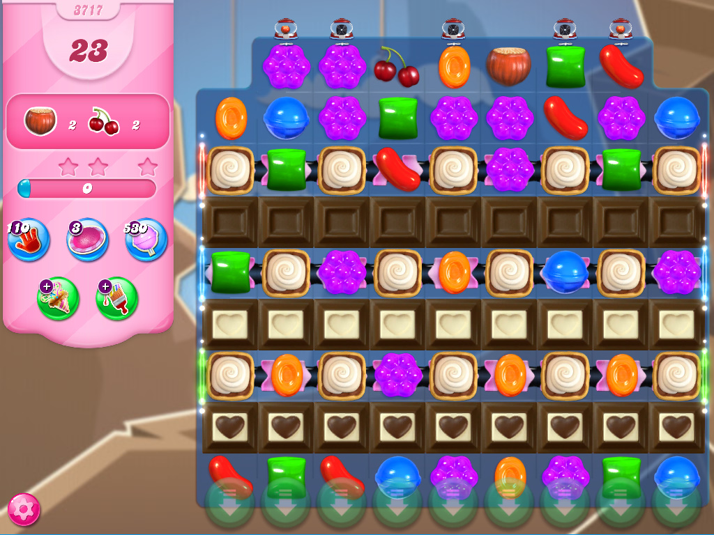 Candy Crush Saga level 3717