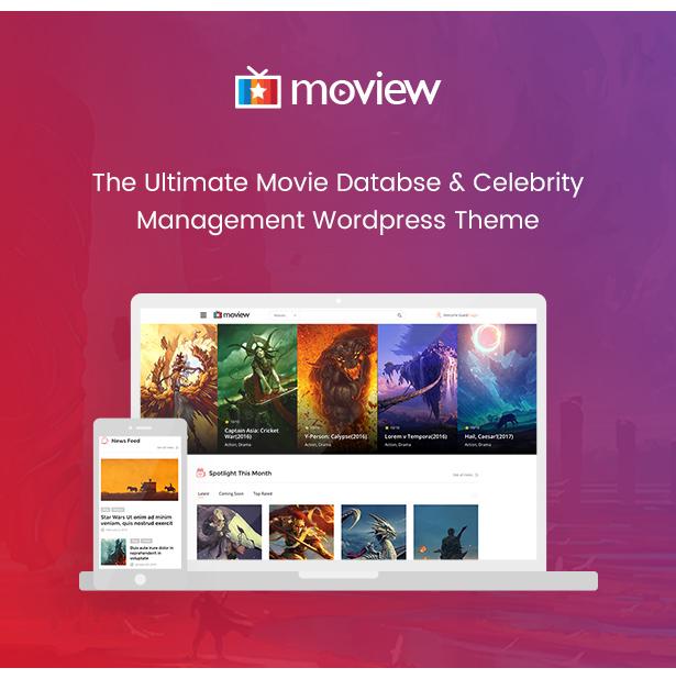 Theme] Moview - Responsive Film/Video DB & Review Theme | Free ...