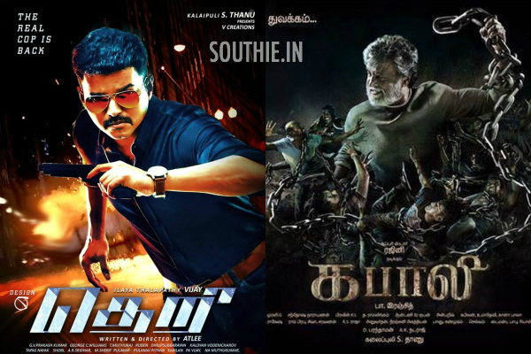 Vijay's Theri Beats Rajinikanth's Kabali and stands top in Kerala. Vijay stands on top of everyone in Kerala. His massive fan base ensures he beats even Rajinikanth.