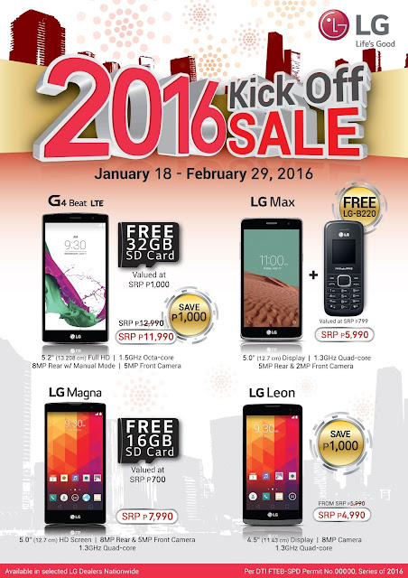 LG Mobile Amazing Deals: Discounts Plus Freebies
