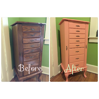 #millsnewhouse Jewelry Armoire