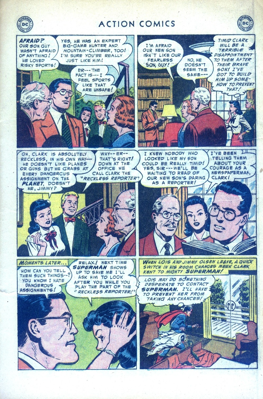 Read online Action Comics (1938) comic -  Issue #189 - 7