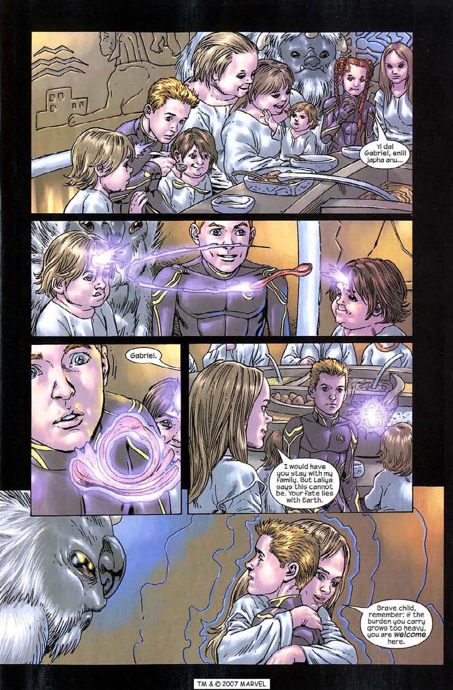 Read online Silver Surfer (2003) comic -  Issue #9 - 9