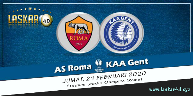 Prediksi Pertandingan AS Roma vs KAA Gent 21 Februari 2020