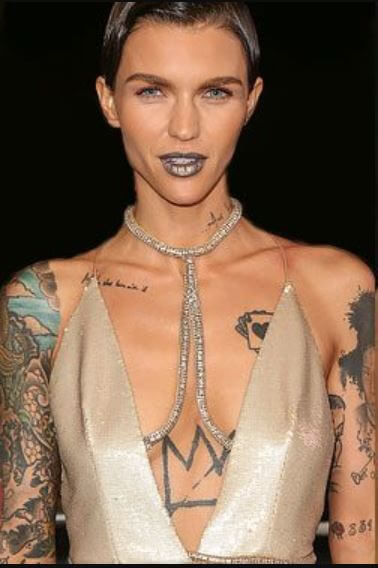 Ruby Rose Tattoos Explained