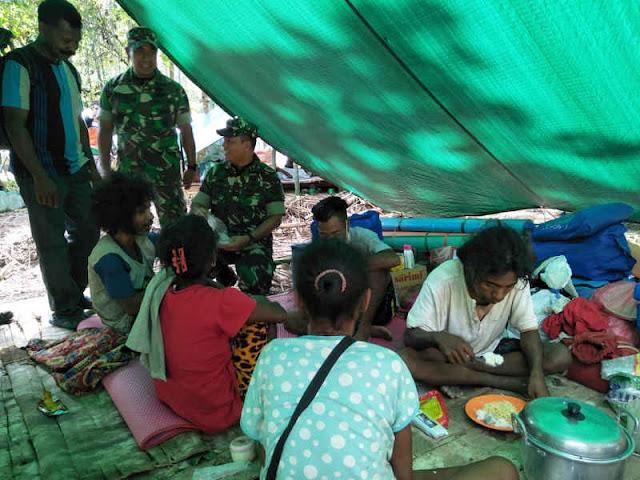 Tim Tanggap Darurat Mabes TNI Tiba di Suku Mause Ane