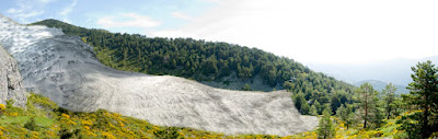 Recreación del antiguo glaciar de Pepe Hernando