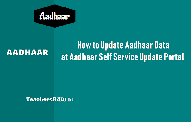 update or correct aadhaar data at aadhaar self service update portal,change address in aadhaar data,update aadhar profile,submit update/ correction of aadhar data at online/by post,resident.uidai.net.in,aadhar enroment/corection form,