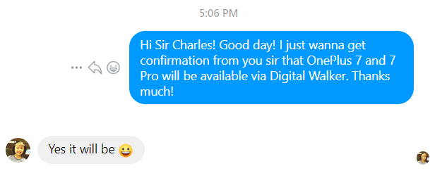 OnePlus 7 Pro Digital Walker
