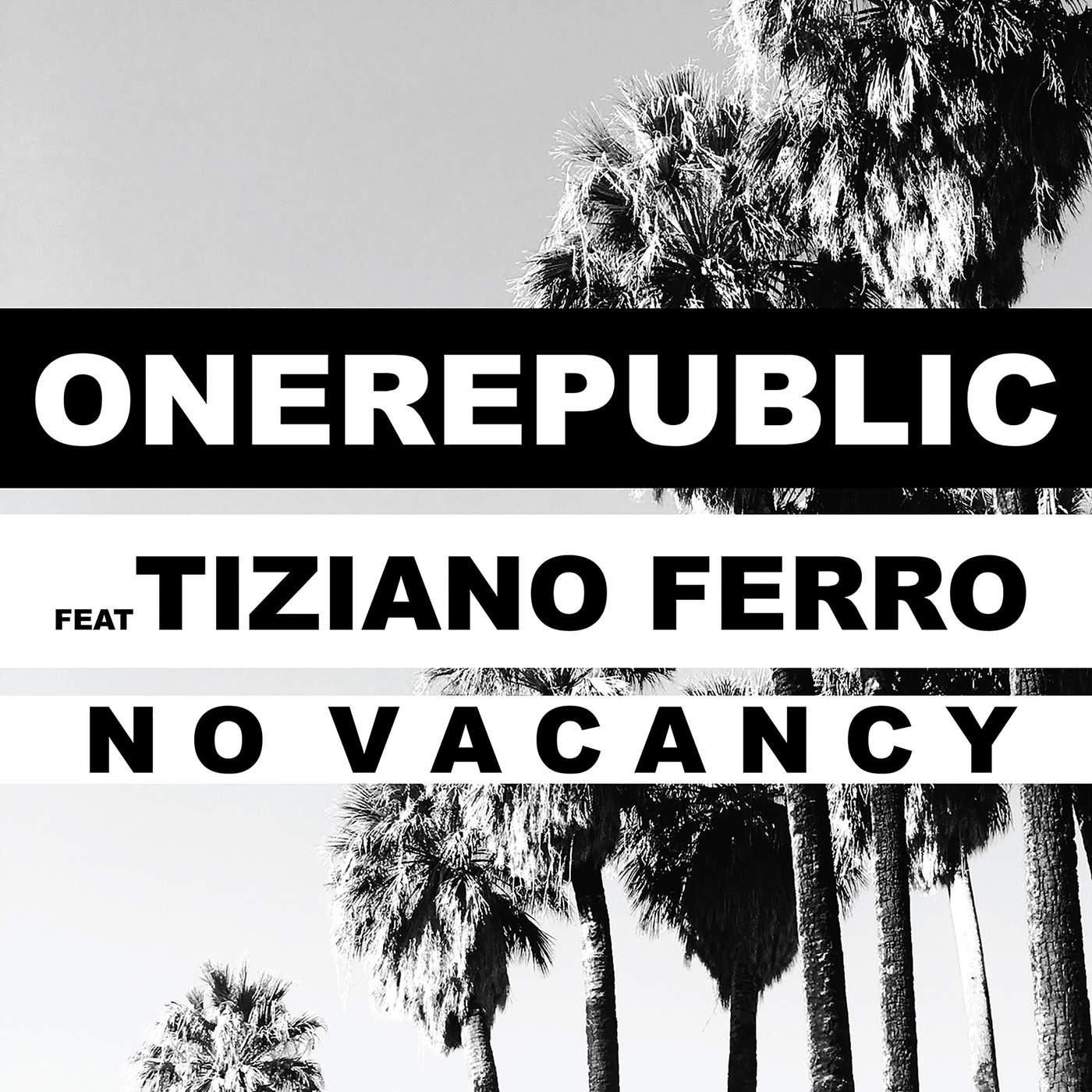 OneRepublic - No Vacancy (feat. Tiziano Ferro) - Single Cover