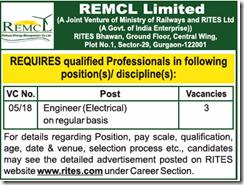 REMCL Recruitment Advertisement