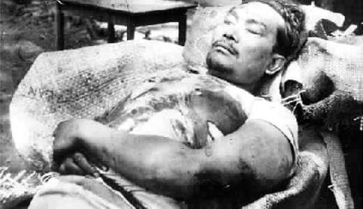 jenazah Musso, gembong pemberontakan PKI Madiun
